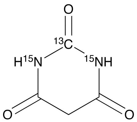 Barbituric Acid-<sup>13</sup>C,<sup>15</sup>N<sub>2</sub>