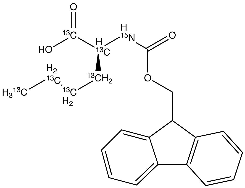 (S)-N-Fmoc-L-norleucine-<sup>13</sup>C<sub>6</sub>,<sup>15</sup>N