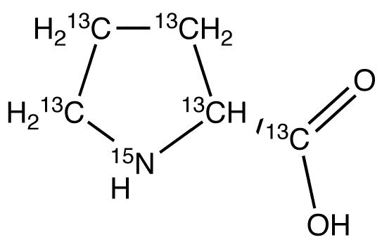 D-Proline-<sup>13</sup>C<sub>5</sub>,<sup>15</sup>N