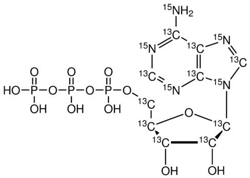 Adenosine 5'-triphosphate-<sup>13</sup>C<sub>10</sub>,<sup>15</sup>N<sub>5</sub> (Li<sub>2</sub> salt)