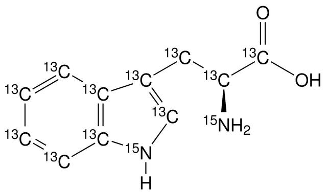 L-Tryptophan-UL-<sup>13</sup>C<sub>11</sub>,<sup>15</sup>N<sub>2</sub>