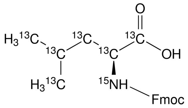 Fmoc-L-leucine-<sup>13</sup>C<sub>6</sub>,<sup>15</sup>N