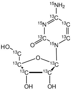 Cytidine-<sup>13</sup>C<sub>9</sub>,<sup>15</sup>N<sub>3</sub>