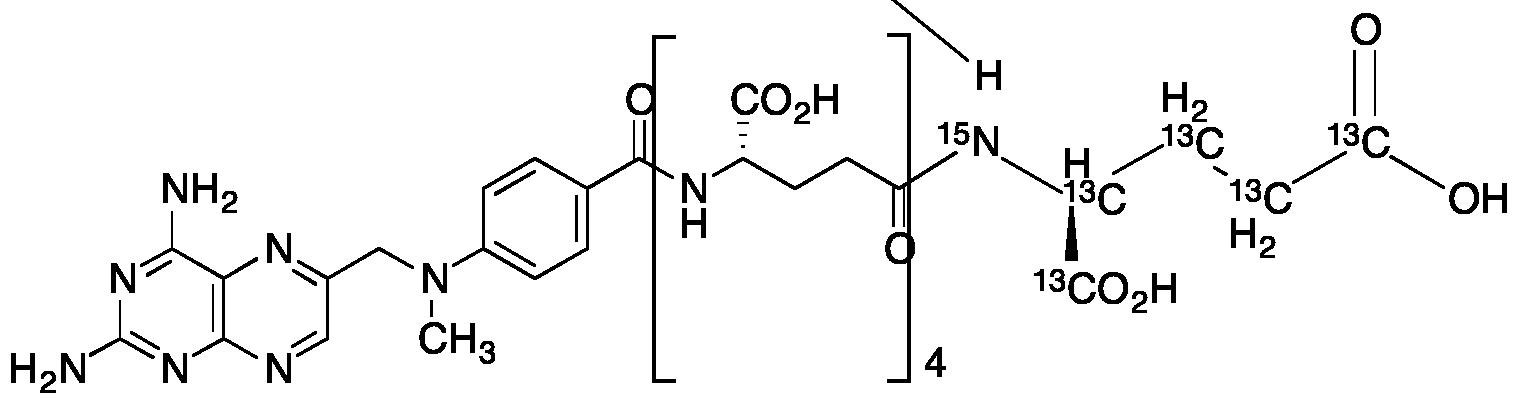Methotrexate Pentaglutama<sup>5, 15</sup>C<sub>5</sub>, 15N