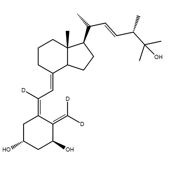 1,25-Dihydroxy Vitamin D2-d<sub>3</sub> in ethanol