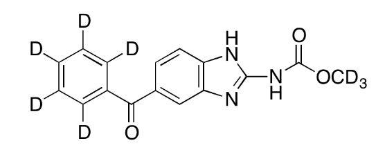 Mebendazole-d<sub>8</sub>