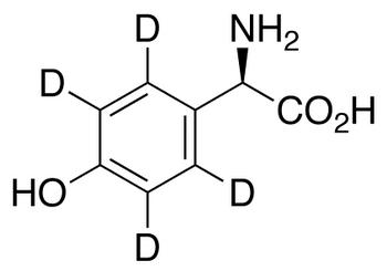 D-(-)-4-Hydroxyphenyl-d<sub>4</sub>-glycine
