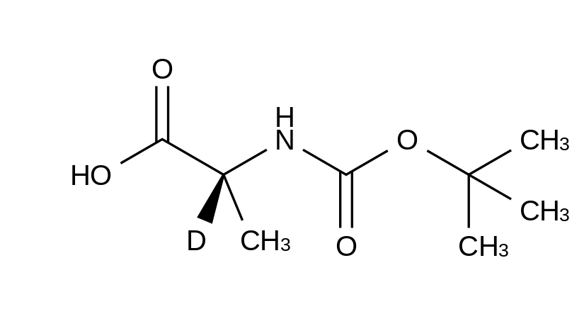 L-Alanine-2-d<sub>1</sub>-N-t-BOC