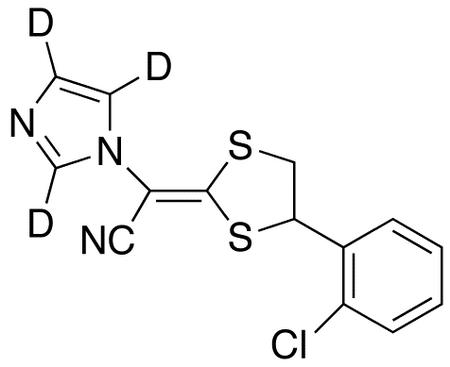 Lanoconazole-d<sub>3</sub>