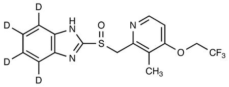 Lansoprazole-d<sub>4</sub>