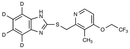 Lansoprazole Sulfide-d<sub>4</sub>