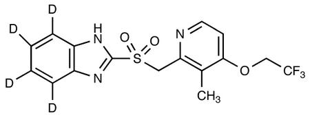 Lansoprazole Sulfone-d<sub>4</sub>