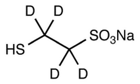 Mesna-d<sub>4</sub> (may contain up to 10% disulfide)
