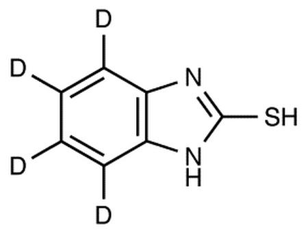2-Mercapto-4,5,6,7-d<sub>4</sub>-benzimidazole