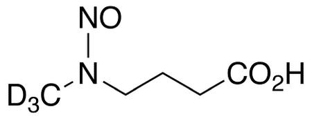 N-Nitroso-N-(methyl-4-aminobutyric acid-d<sub>3</sub>)