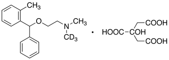 Orphenadrine-d<sub>3</sub> Citrate Salt