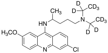 Quinacrine-d<sub>10</sub>