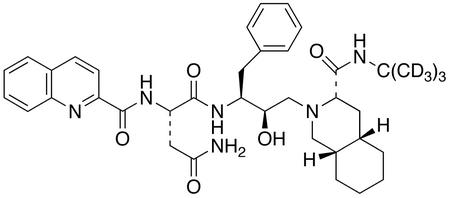 Saquinavir-d<sub>9</sub>