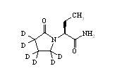 Levetiracetam-d<sub>6</sub>