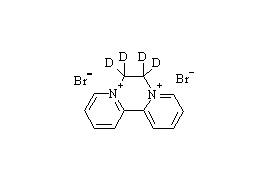 Diquat dibromide-d<sub>4</sub>