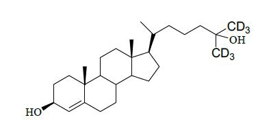 25-Hydroxy cholesterol-26,26,26,27,27,27-d<sub>6</sub>