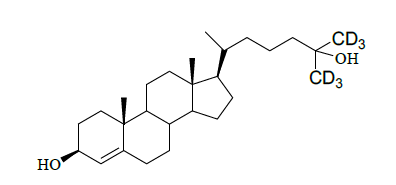 25-Hydroxy cholesterol-26,26,26,27,27,27-d<sub>6</sub>