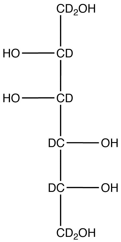 D-Mannitol-1,1,2,3,4,5,6,6-d<sub>8</sub>