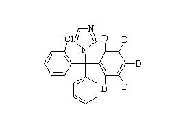 Clotrimazole-d<sub>5</sub>