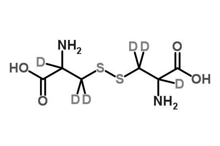 DL-Cystine-2,2&#146;,3,3,3&#146;,3&#146;-d<sub>6</sub>