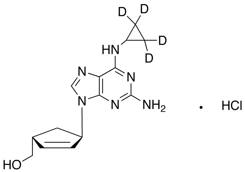 trans-Abacavir-d<sub>4</sub> HCl