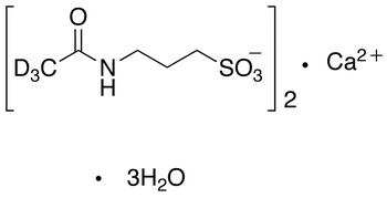 Acamprosate-d<sub>6</sub> calcium trihydrate