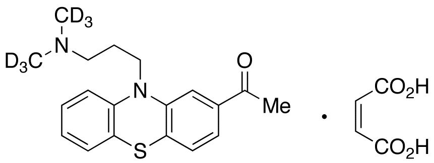 Acepromazine-d<sub>6</sub> Maleate