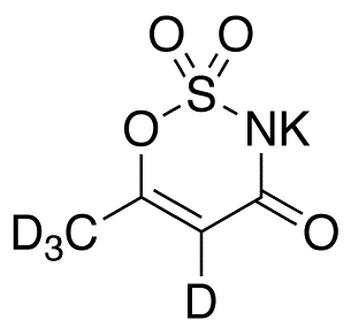 Acesulfame-d<sub>4</sub> potassium salt