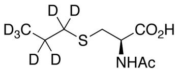 N-Acetyl-S-(propyl-d<sub>7</sub>)-L-cysteine