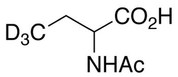 (+/-)-2-Acetylaminobutanoic Acid-d<sub>3</sub>