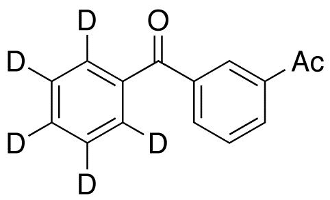 3-Acetylbenzophenone-d<sub>5</sub>