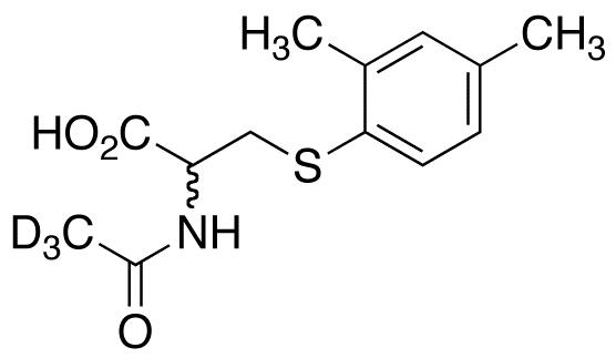 N-Acetyl-S-(2,4-dimethylbenzene)cysteine-d<sub>3</sub>(R/S Mixture)