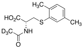 N-Acetyl-S-(2,5-dimethylbenzene)-L-cysteine-d<sub>3</sub>