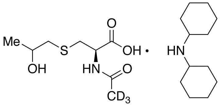 N-Acetyl-S-(2-hydroxypropyl)cysteine-d<sub>3</sub> Dicyclohexylammonium Salt