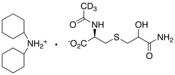 N-Acetyl-S-(2-hydroxy-3-propionamide)-L-cysteine-d<sub>3</sub> Dicyclohexylammonium Salt