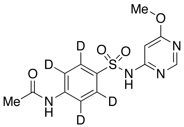 Acetylsulfamonomethoxine-d<sub>4</sub>