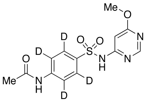 Acetylsulfamonomethoxine-d<sub>4</sub>