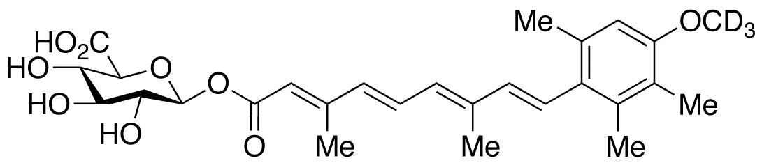 Acitretin-d<sub>3</sub> O-β-D-Glucuronide