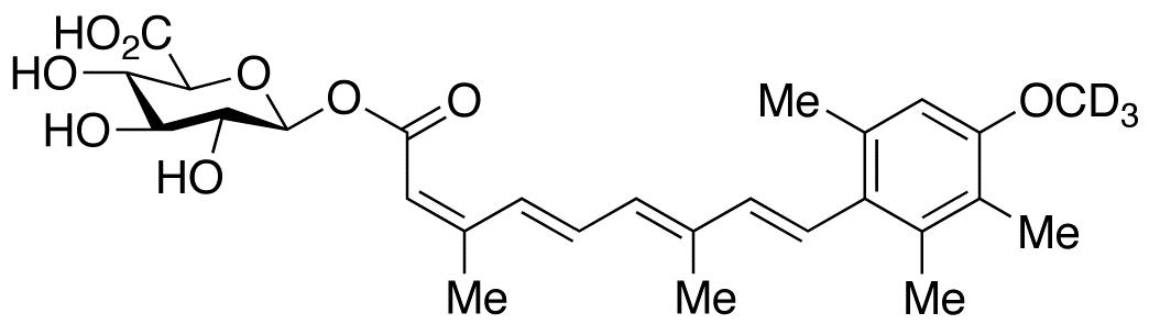 13-cis Acitretin-d<sub>3</sub> O-β-D-Glucuronide