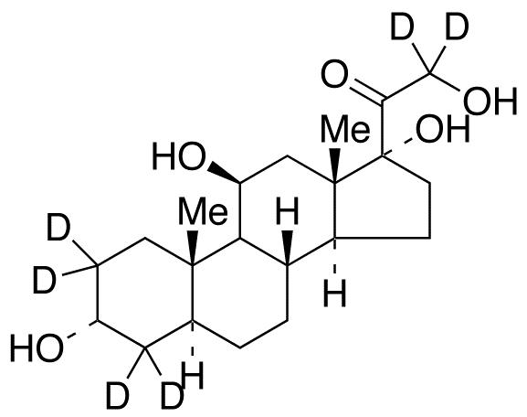 Allo-3&#945;-tetrahydro Cortisol-d<sub>6</sub> (Major)