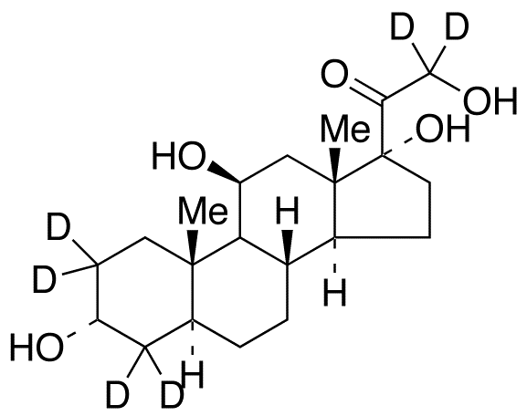 allo-3α-Tetrahydro cortisol-d<sub>6</sub>