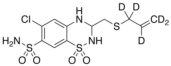 Althiazide-d<sub>5</sub>