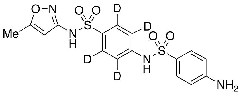 N-(4-Aminobenzenesulfonyl) Sulfamethoxazole-d<sub>4</sub>