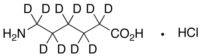 &#949;-Aminocaproic Acid-d<sub>10</sub> HCl