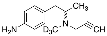 rac 4-Amino Deprenyl-d<sub>3</sub>